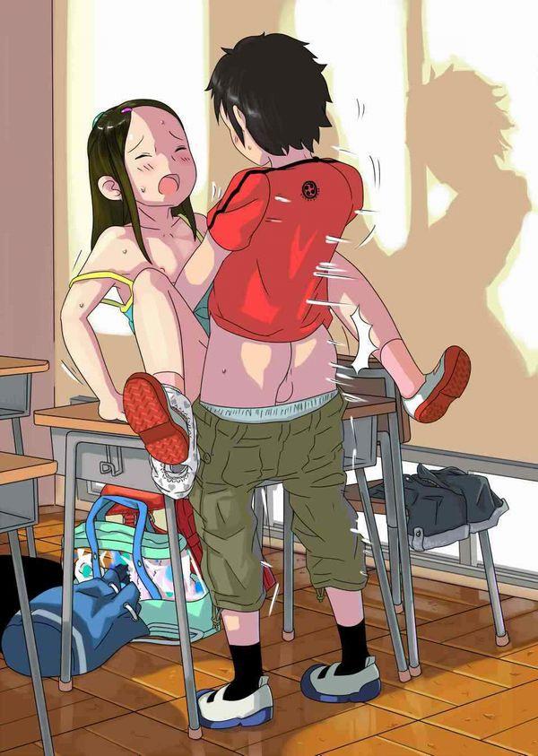 【ショタ×ロリ】子供同士でセックスしてる不純異性交遊な二次エロ画像 【18】