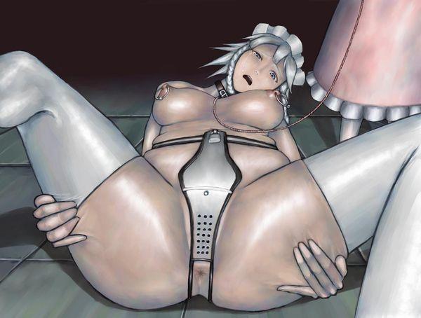 【インキンになりそう】貞操帯を着用した女子達の二次エロ画像 【21】