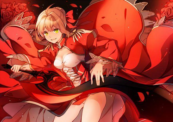 【Fate/Grand Order】ネロ・クラウディウス(赤セイバー)のエロ画像 【17】