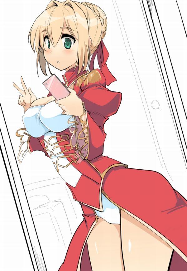 【Fate/Grand Order】ネロ・クラウディウス(赤セイバー)のエロ画像 【21】