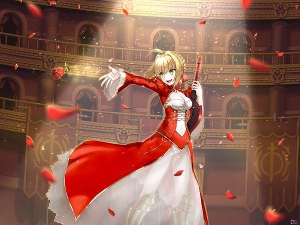 【Fate/Grand Order】ネロ・クラウディウス(赤セイバー)のエロ画像 【27】