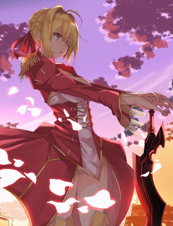 【Fate/Grand Order】ネロ・クラウディウス(赤セイバー)のエロ画像 【42】