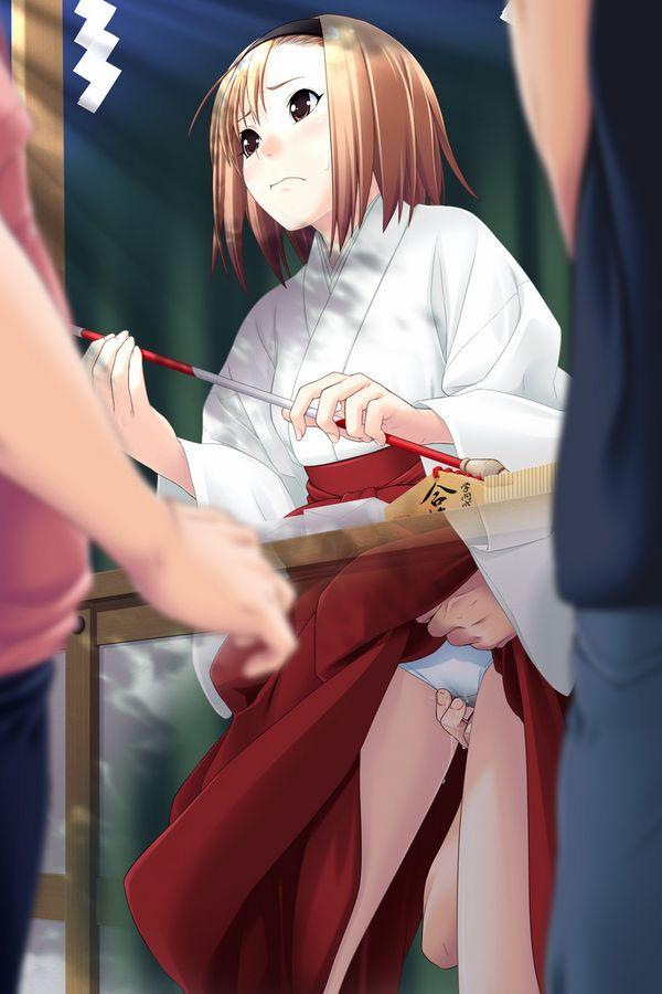 【謹賀新年】見てると初詣に行きたくなる巫女さんの二次エロ画像 【2】