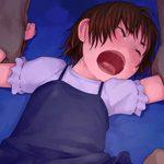 【ロリレイプ】悪戯目的で誘拐されてしまった少女達の二次エロ画像