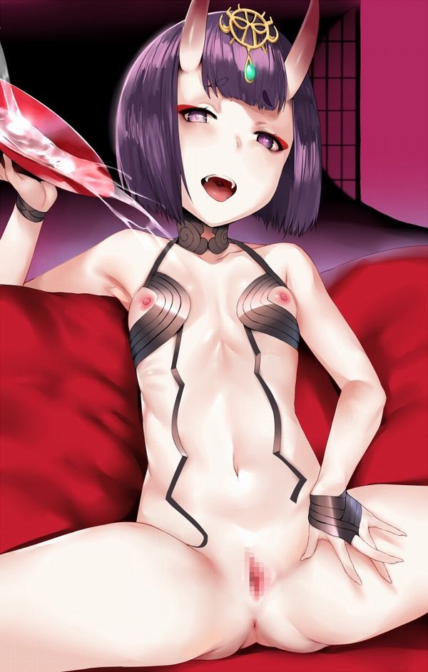 【Fate/Grand Order】酒呑童子(しゅてんどうじ)のエロ画像 【6】