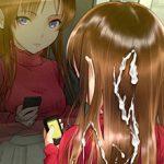 【後処理大変そう】髪の毛にザーメンぶっかけられてる二次エロ画像