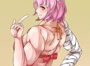 【金隆山康隆】ミオスタチン関連筋肉肥大レベルな筋肉女子の二次エロ画像【箕輪勢一】