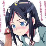 【うぶ】チンコ見てびっくりor赤面してる少女達の二次エロ画像