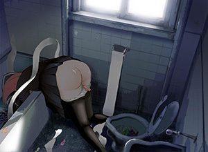 【せめてもの優しさ?】コンドームが散乱しているレイプ後の二次エロ画像