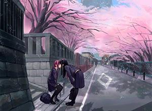 【若気の至り】街中でキスしてる恥知らずなカップル達の二次画像