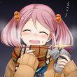 【前編】焼き芋食べてる女の子達の二次画像