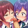【舌先チロチロ】カリを舐めてるフェラチオの二次エロ画像