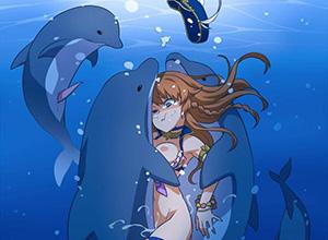 【息継ぎ必須】水中フェラ・水中セックスしてる二次エロ画像