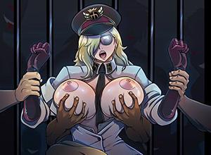 【ONNPIECE】獄卒長サディちゃん&看守長ドミノのエロ画像【ワンピース】