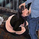 【汚ねぇ噴水】肛門から浣腸液を噴出している二次エロ画像