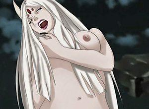【NARUTO】大筒木カグヤ(おおつつきかぐや)のエロ画像