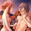 【迷惑客】温泉の露天風呂でセックスしてるカップル達の二次エロ画像