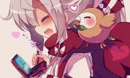 【11月17日】3DSでゲームしてる女の子達の二次画像【ポケットモンスターUSM発売】