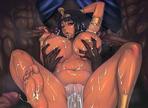 【NGワード】エジプトとかそっち方面っぽい褐色娘の二次エロ画像【フィフィ】