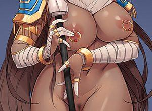 【陰毛付】褐色肌の美少女と黒々としたマン毛のコラボがそそる二次エロ画像