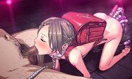 【ロリっ娘フェラ】ランドセルの女の子がおちんちんを咥えてる二次エロ画像