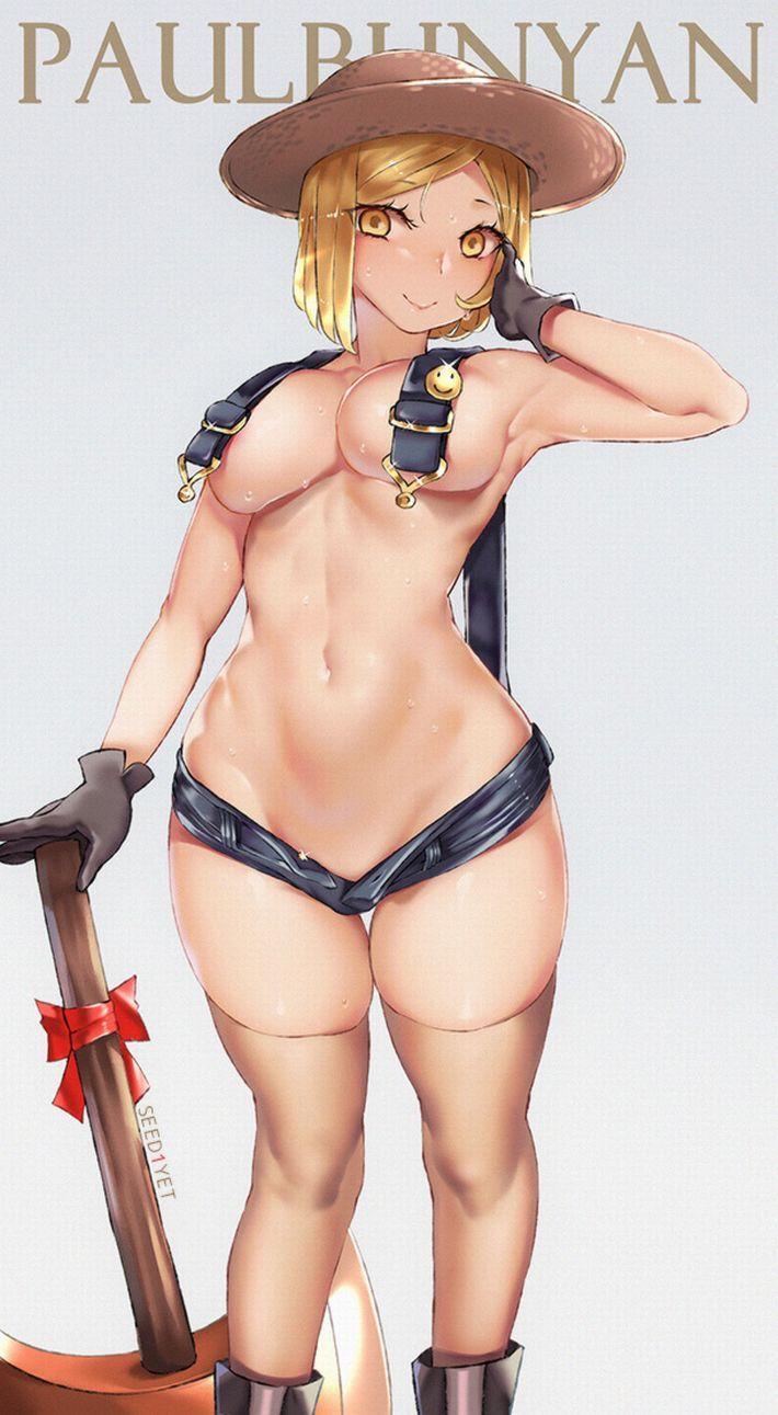 【Fate/Grand Order】ポール・バニヤンのエロ画像【29】