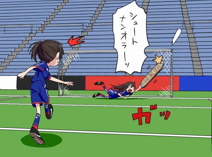 【なでしこジャパン】女子サッカー選手の二次エロ画像【25】