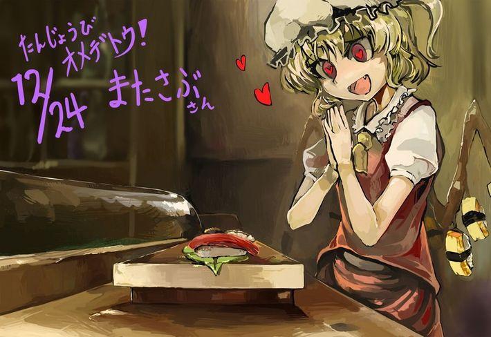 【SUSHI食べたい】寿司食べてる女の子達の二次エロ画像【12】