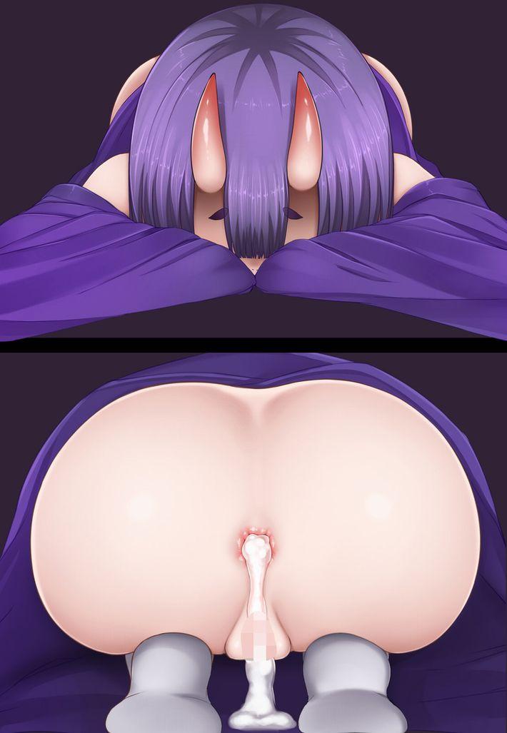 【もんじゃ】アナル中出しされ尻の穴からザーメンを垂れ流してる二次エロ画像【食べよ】【12】