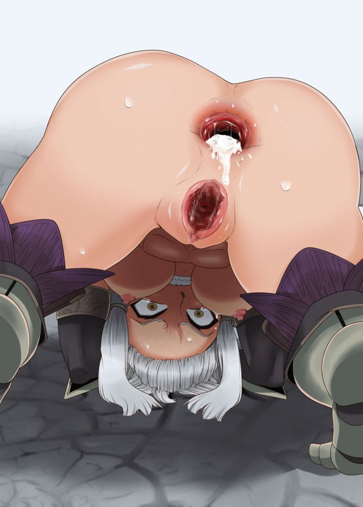 【もんじゃ】アナル中出しされ尻の穴からザーメンを垂れ流してる二次エロ画像【食べよ】【26】