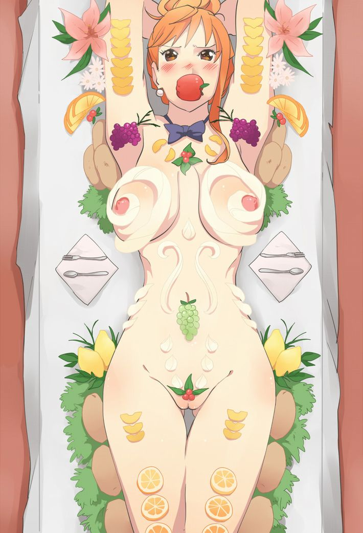 【日本の伝統】女体盛りの二次エロ画像【8】