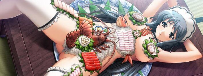 【日本の伝統】女体盛りの二次エロ画像【24】