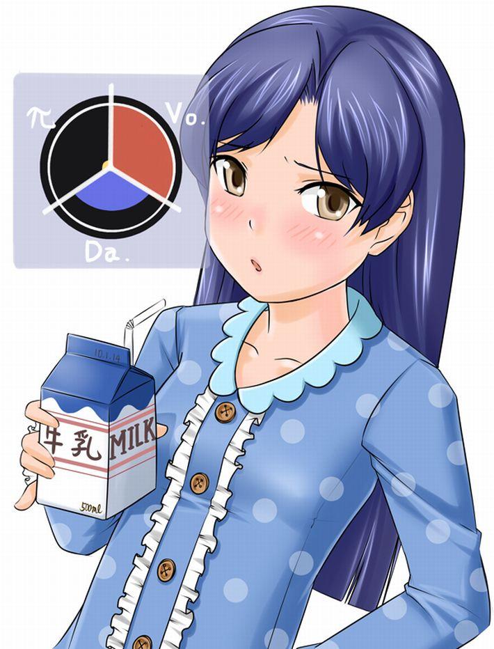 【お行儀が悪い】コップに注がず牛乳をパックから直飲みしてる女子達の二次エロ画像【33】