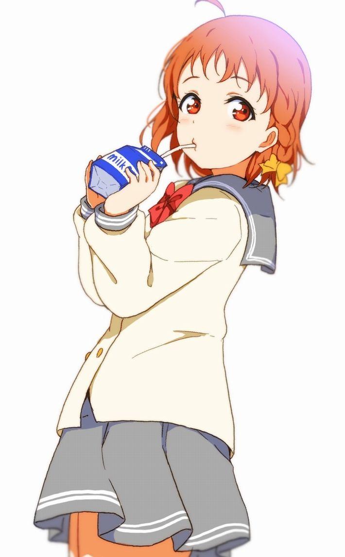 【お行儀が悪い】コップに注がず牛乳をパックから直飲みしてる女子達の二次エロ画像【38】