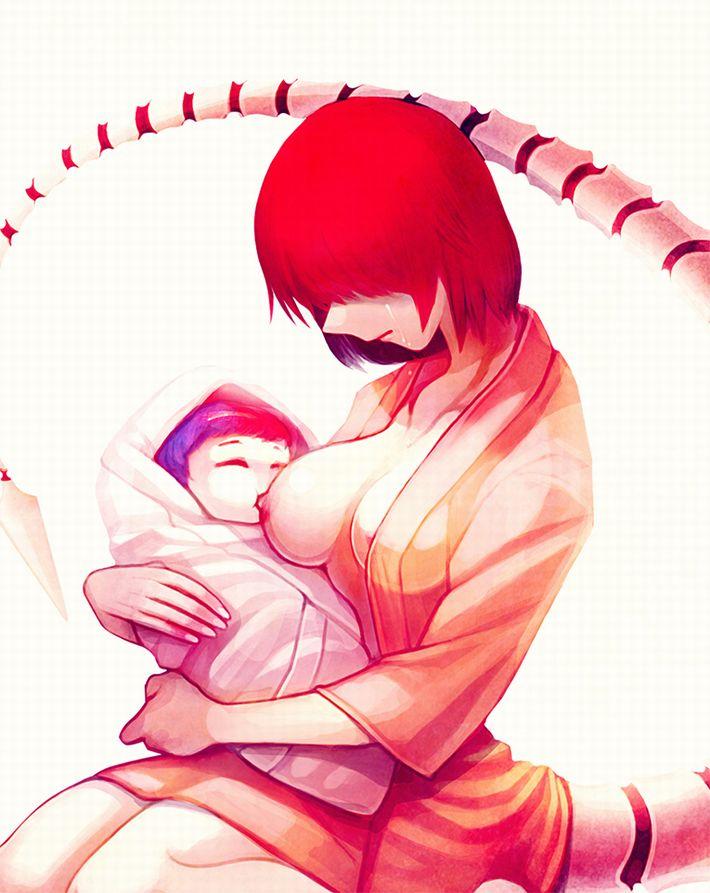 【本来は神聖な光景】お母さんが赤ちゃんにおっぱいあげてる授乳のエロ画像【31】