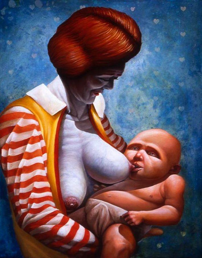 【本来は神聖な光景】お母さんが赤ちゃんにおっぱいあげてる授乳のエロ画像【49】