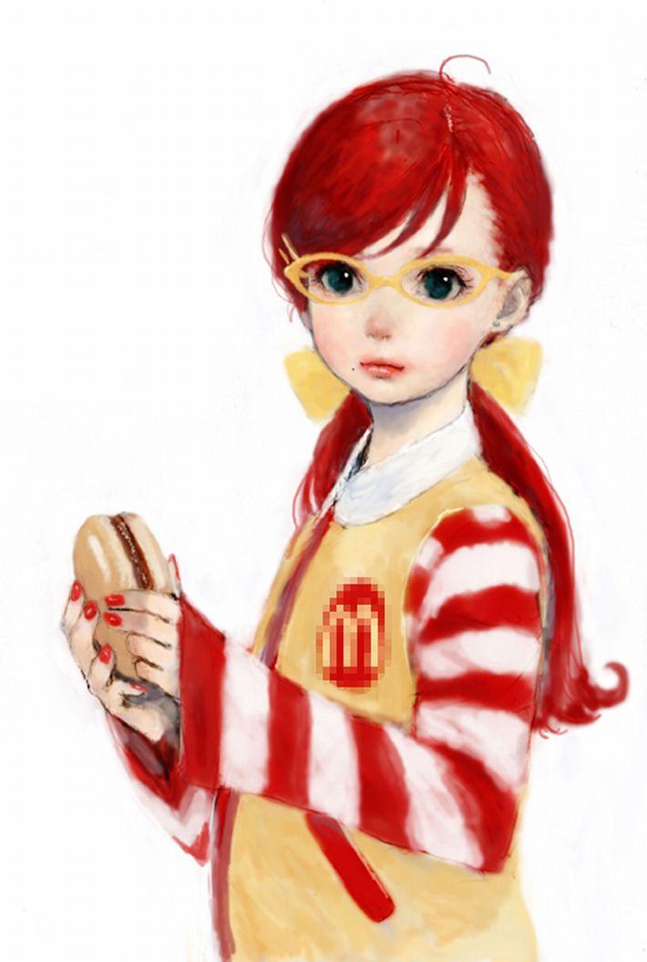 【女体化有り】マクドナルドのイメージキャラクター・ドナルドの二次エロ画像【8】