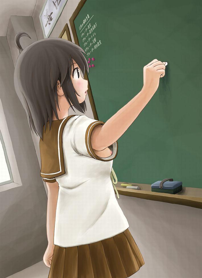 【生々しい】女子高生の日常って雰囲気の微エロな二次エロ画像【15】