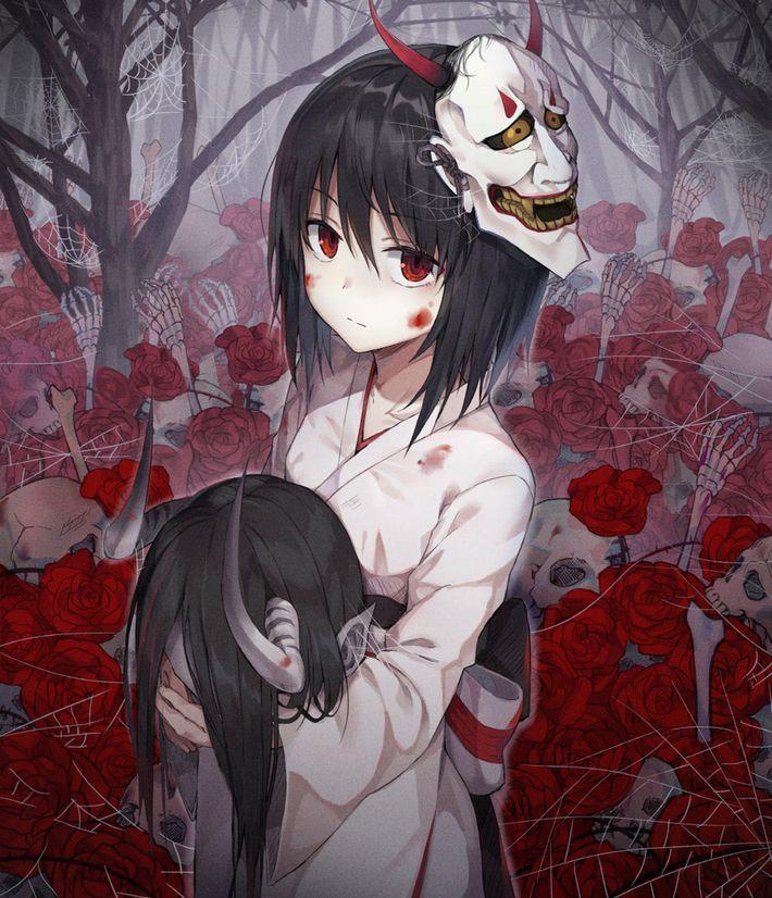 【猟奇的な彼女】女の子が人を殺めている二次逆リョナ画像【16】