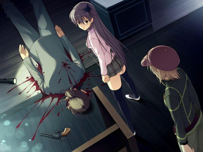【猟奇的な彼女】女の子が人を殺めている二次逆リョナ画像【19】