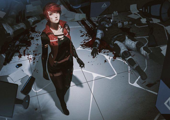 【猟奇的な彼女】女の子が人を殺めている二次逆リョナ画像【21】