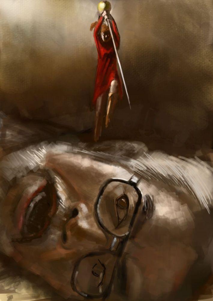 【猟奇的な彼女】女の子が人を殺めている二次逆リョナ画像【26】
