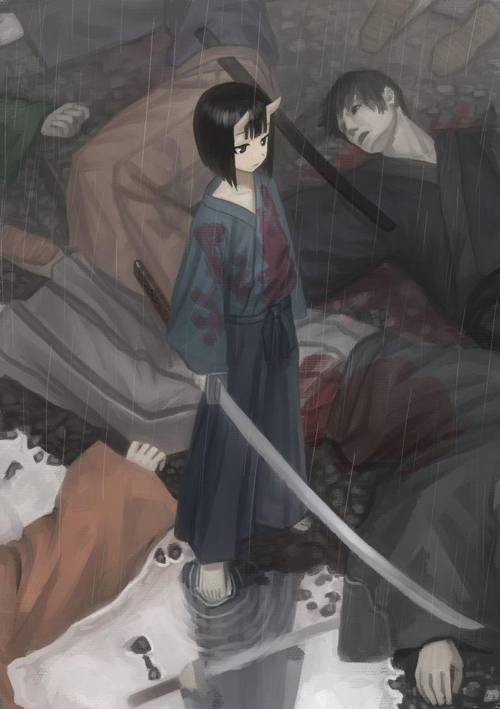 【猟奇的な彼女】女の子が人を殺めている二次逆リョナ画像【30】