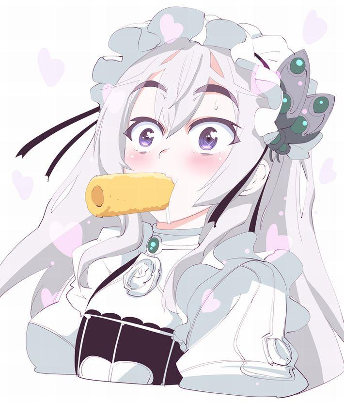 【だがしかし2放送記念】妄想が捗る!女の子がうまい棒をセクシーに食べてる二次エロ画像【11】