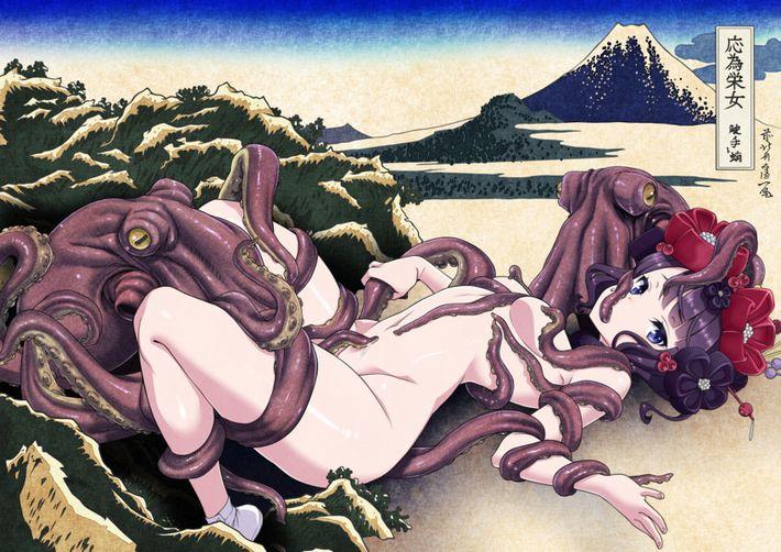 【Fate/GrandOrder】葛飾北斎(かつしかほくさい)のエロ画像【7】