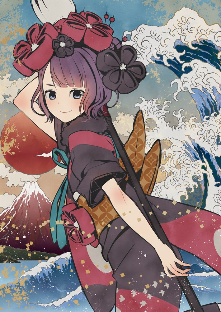 【Fate/GrandOrder】葛飾北斎(かつしかほくさい)のエロ画像【12】