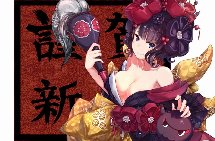 【Fate/GrandOrder】葛飾北斎(かつしかほくさい)のエロ画像【36】