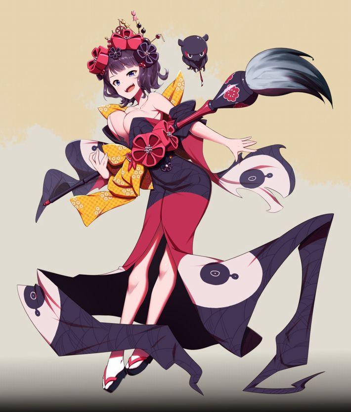 【Fate/GrandOrder】葛飾北斎(かつしかほくさい)のエロ画像【38】