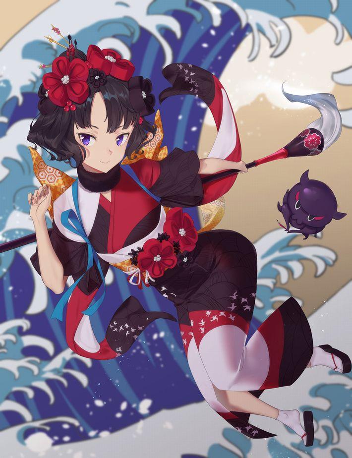 【Fate/GrandOrder】葛飾北斎(かつしかほくさい)のエロ画像【40】