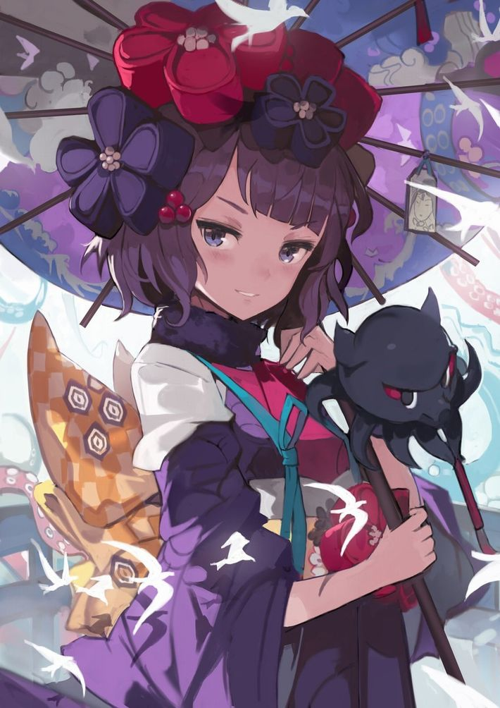 【Fate/GrandOrder】葛飾北斎(かつしかほくさい)のエロ画像【44】